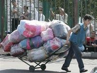 С Черкизовского рынка вывезли почти весь товар