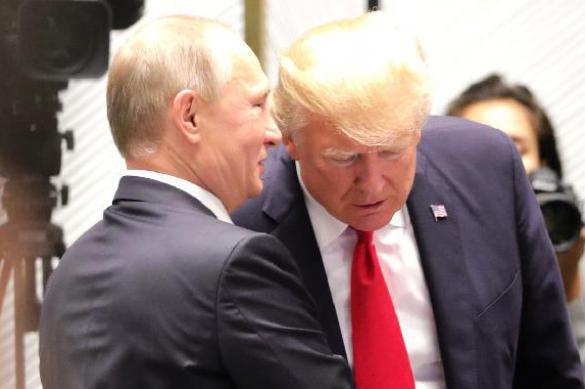 Трамп и Путин поговорили по телефону. Трамп и Путин поговорили по телефону