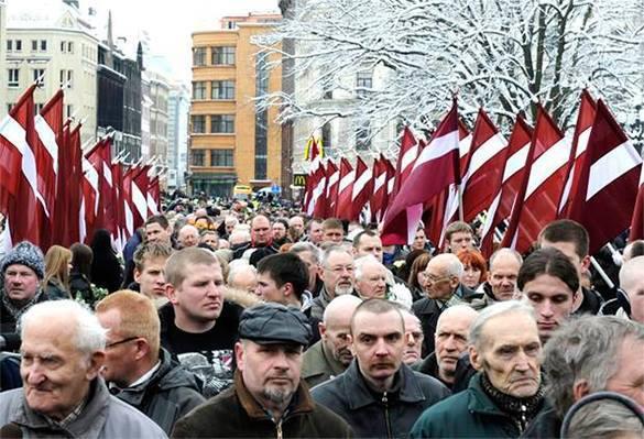 На русских в Латвии все закрыли глаза