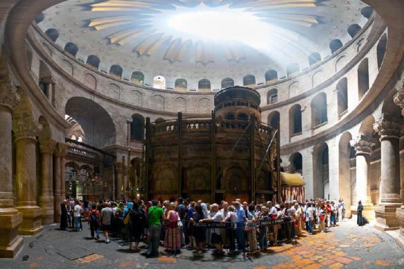 Храм Гроба Господня в Иерусалиме могут открыть до Пасхи. РПЦ: храм Гроба Господня в Иерусалиме могут открыть до Пасхи