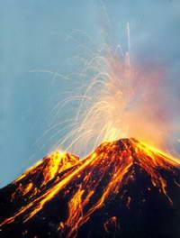 Камчатский вулкан Шивелуч выбросил 4-километровый столб пепла