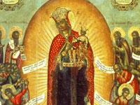 В тверской церкви икона источает поток масла