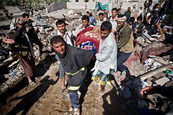События в Йемене - это война между Саудовской Аравией и Ираном - мнение. Йемен, война,авиаудар, разрушения, жертвы