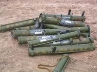 В Чечне найден тайник с гранатометами и пулеметами