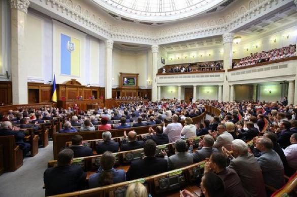В Верховной Раде провалилось голосование по вопросу о