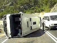 В Алжире столкнулись два автобуса