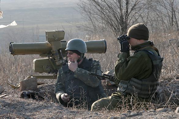 ДНР предъявляет ультиматум властям Украины. Пост наблюдения на переднем крае
