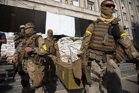 Украинская армия и вела себя в Чернухино как настоящий оккупант - местный житель. 314760.jpeg