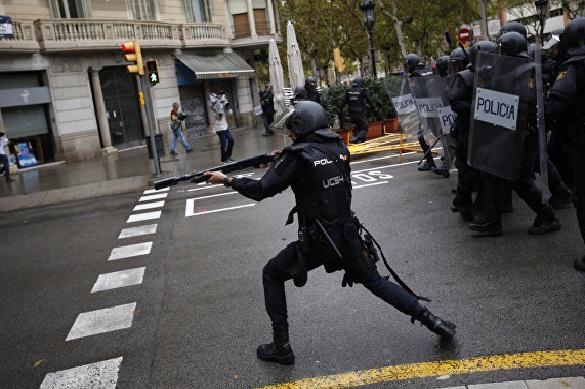Нареферендуме вКаталонии согромным отрывом лидируют сторонники независимости