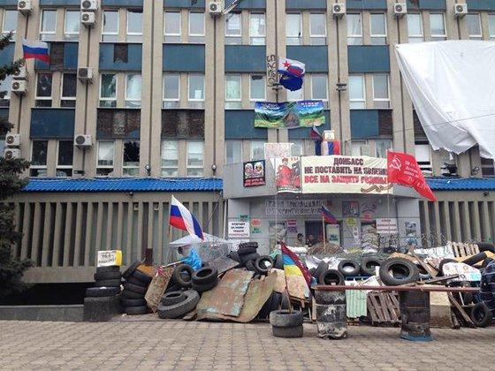 Как бомбили Луганск. ВИДЕОСВИДЕТЕЛЬСТВА. Луганская администрация