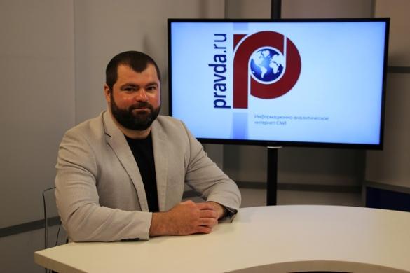 Журналист Алик Ветров