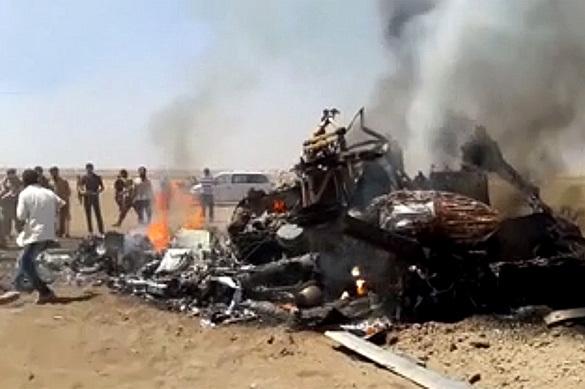 Тела погибших членов экипажа Ми-8 находятся у сирийской группиро