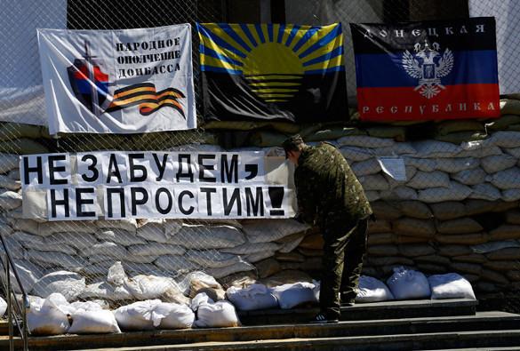 К ЛНР и ДНР приближается военная группировка особого назначения