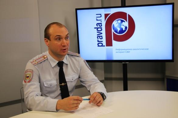 Подполковник полиции Григорий Марченков