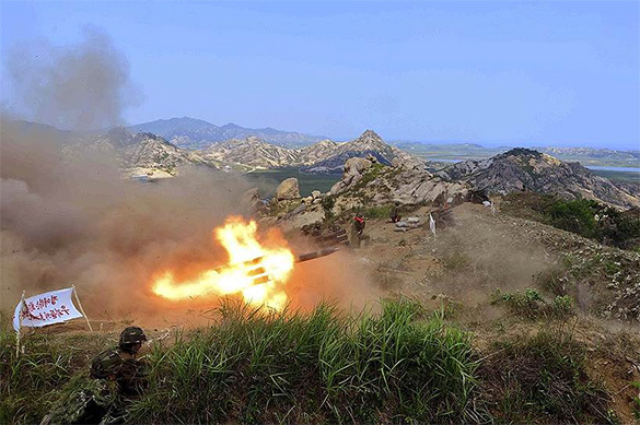 Южная Корея атаковала ракетами объект на границе с КНДР