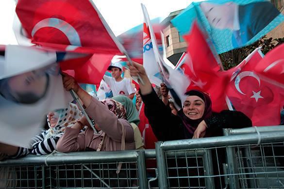 Эрдоган: Во время беспорядков в Турции погибли 42 человека.