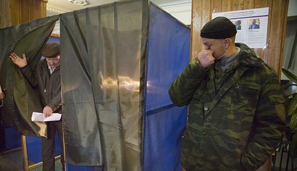 В день выборов в Донецке стало спокойнее. 302768.jpeg