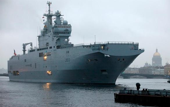 """Францию вынудят отдать деньги за """"Мистрали"""" в любом случае.. мистраль,вертолетоносец"""