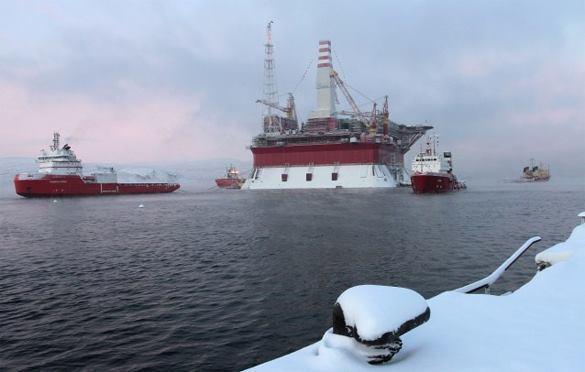 Скважина в Арктике поглотит все санкции. Скважина в Арктике поглотит все санкции