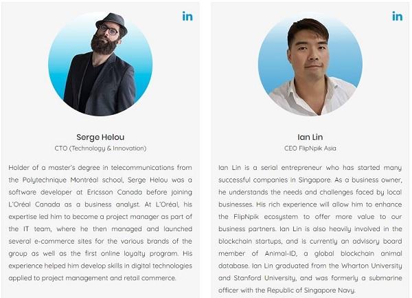 FlipNpik — социальная бизнес-сеть на блокчейне.