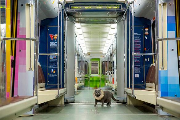 Первым пассажиром Шекспировского поезда в московском метро стал