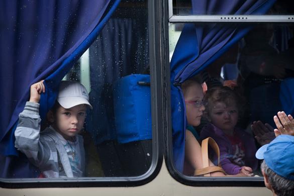 ЮНИСЕФ: В карательной операции страдают дети. ЮНИСЕФ: В карательной операции страдают дети