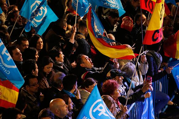 Выборы в Испании выиграла правящая Народная партия