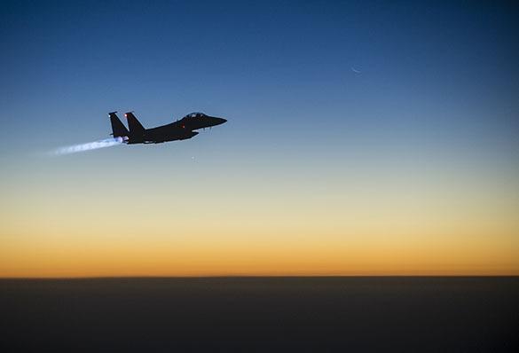ВВС коалиции вновь летают над Сирией
