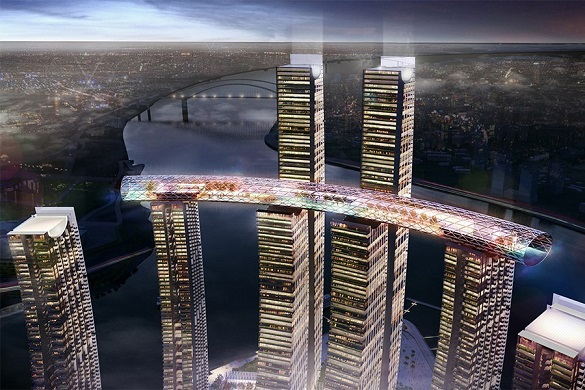 Небоскреб-мост построят в китайском городе Чунцин. 399778.jpeg