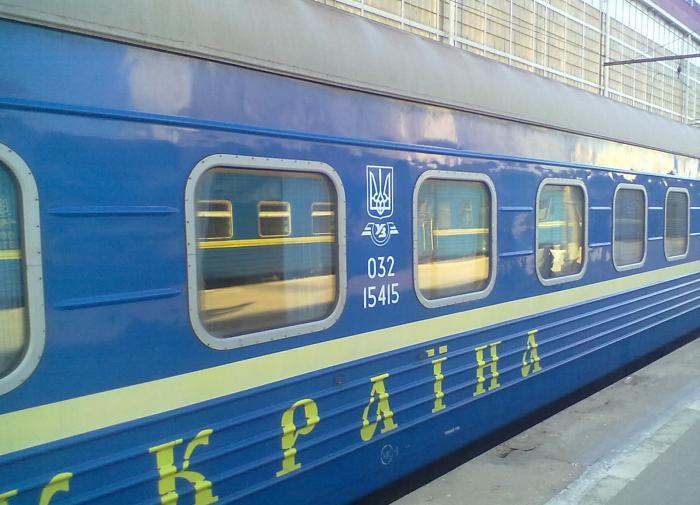 поезд Украина
