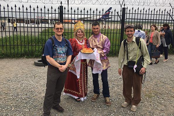 Остров Сахалин: туристов из Москвы встречают хлебом и икрой. Встречают хлебом и икрой