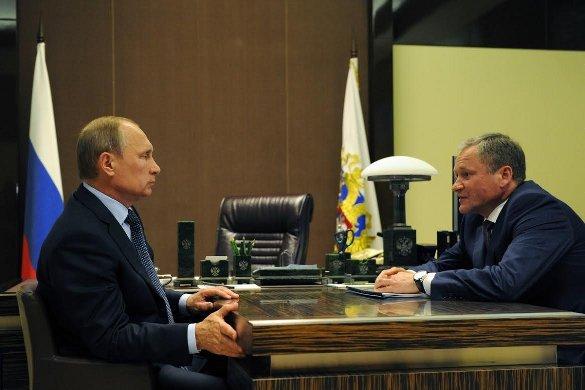 Президент поддержал главу Зауралья. Президент РФ Владимир Путин встретился с врио губернатора Курган
