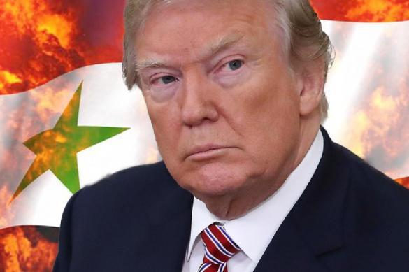 Президент Трамп снова ударил по Сирии в Твиттере. Президент Трамп снова ударил по Сирии в Твиттере