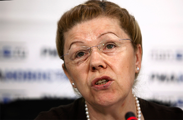 Мизулина: Украинские СМИ клевещут, обвиняя меня в антисемитизме. Елена Мизулина