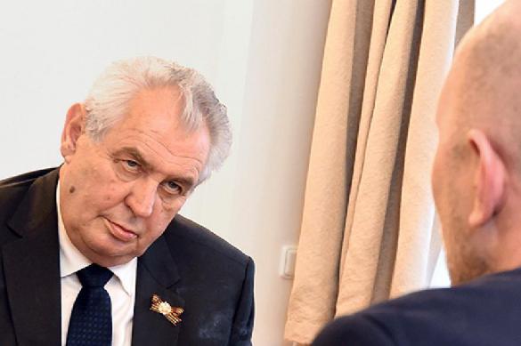 Президент Чехии поспорил с парламентом из-за