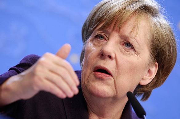 Ангела Меркель: ЕС пока не может отменить антироссийские санкции. 299782.jpeg