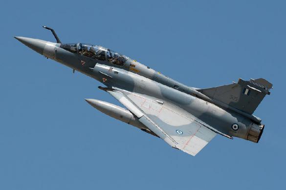 """""""Мираж"""" ВВС Греции рухнул в Эгейское море. Мираж ВВС Греции рухнул в Эгейское море"""