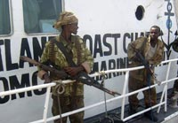 В плен к сомалийским пиратам попали два россиянина