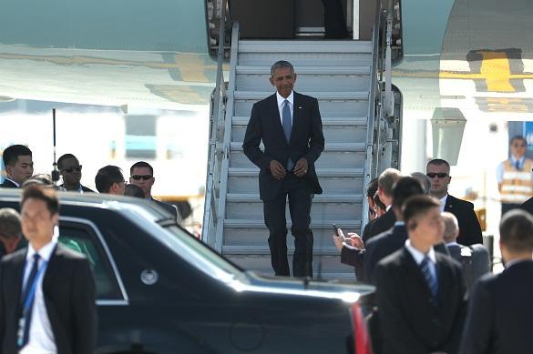 Встреча Обамы в Китае