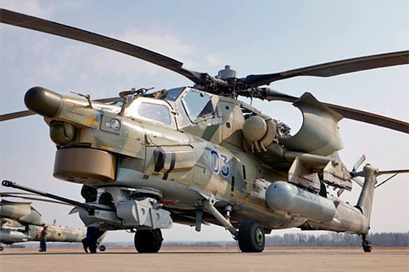 Вертолет Ми-28Н не смогли запустить без водки