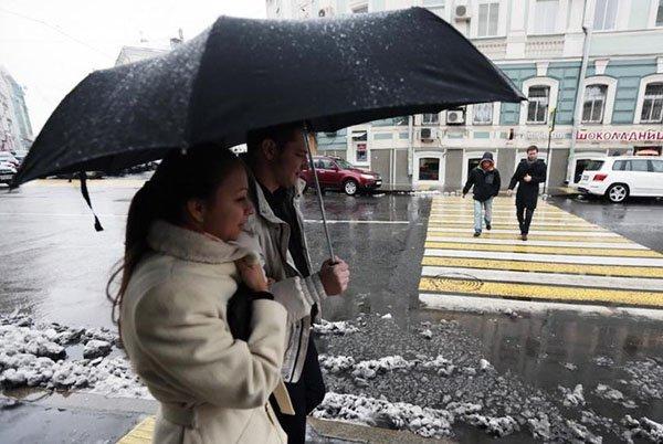 В Москве на неделю останется апрельская погода. В Москве на неделю останется апрельская погода