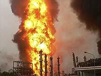 В Техасе горит химический завод