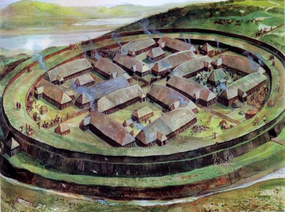 Крепость викингов построили славяне. Крепость викингов