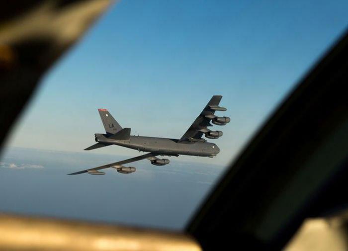 Ядерный бомбардировщик B-52
