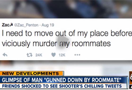 Сказано - сделано: Молодой американец пообещал в Твиттере и убил