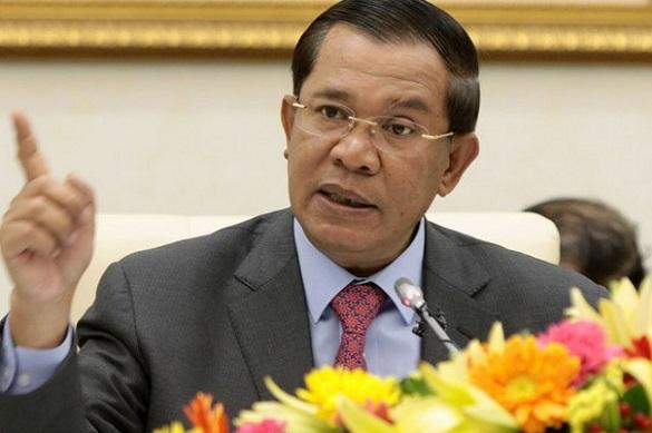 США готовили переворот в Камбодже. Премьер-министр Камбоджи Хун Сен. Фото: Rcc-cambodia.com