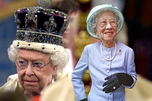 В Китае 85-летняя свинарка прославилась как двойник Елизаветы II