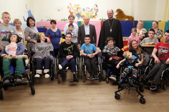 Владимир Путин посетил петербургский детский хоспис. 396794.jpeg