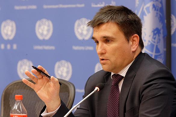 МИД Украины истерит из-за визита генсека ООН в Москву на 9 мая. Павел Климкин