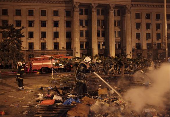 Поэт предвидел одесскую трагедию. Пожар в одесском Доме профсоюзов
